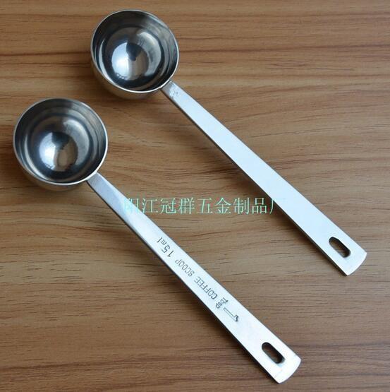 Cuillère-Mesure en Acier inoxydable cuillère à thé Scoop Cuillère à Soupe Ustensile de cuisine 6 l