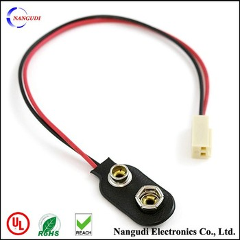 9v snap connector 2 ways wiring harness - buy 9v snap ... lotus exige radio wiring harness