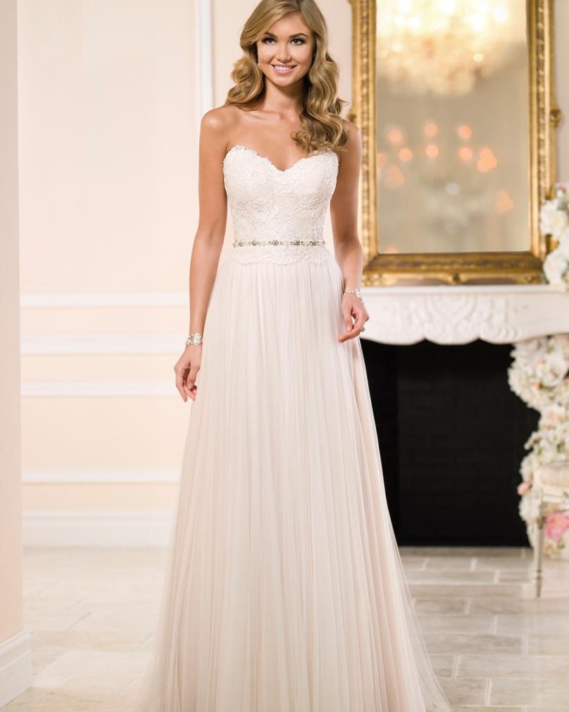 Vestido De Noiva 2015 Real Photo Lace Cheap Wedding Dress