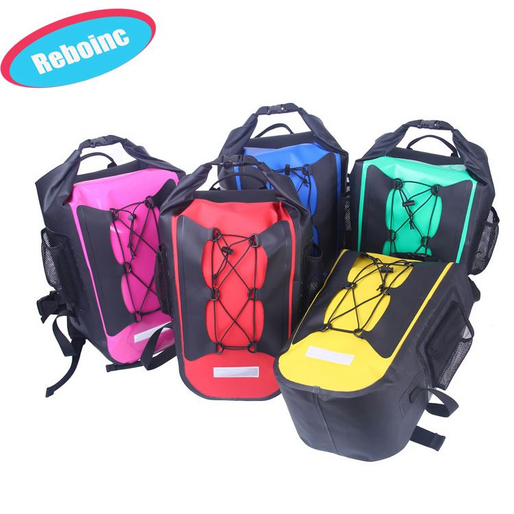 2017 New Arrival PVC TPU dry bag waterproof backpack for hiking,sports,outdoor