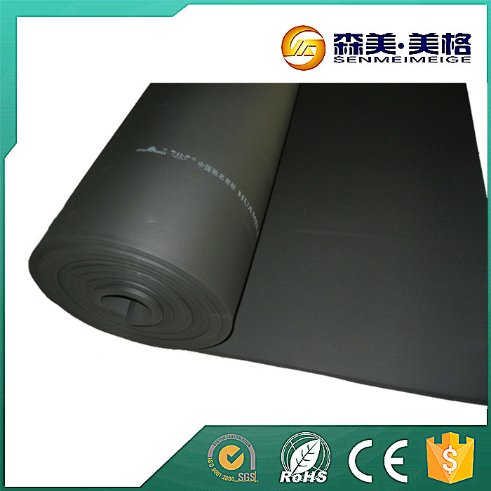 China manufacturer nbr rubber foam armaflex equivalent sheet insulation price
