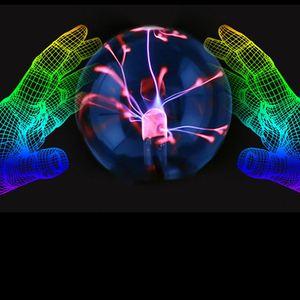 New Gift 3 inch USB Plasma Ball Electrostatic Sphere Light Crystal Lamp  Desktop Globe Laptop / Light Christmas Party Gift