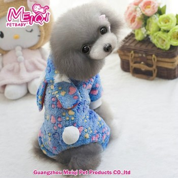 Pet Product Polyester Pet Clothes Of Dog Waterproof Dog Clothes Comfortable Dog Pajama