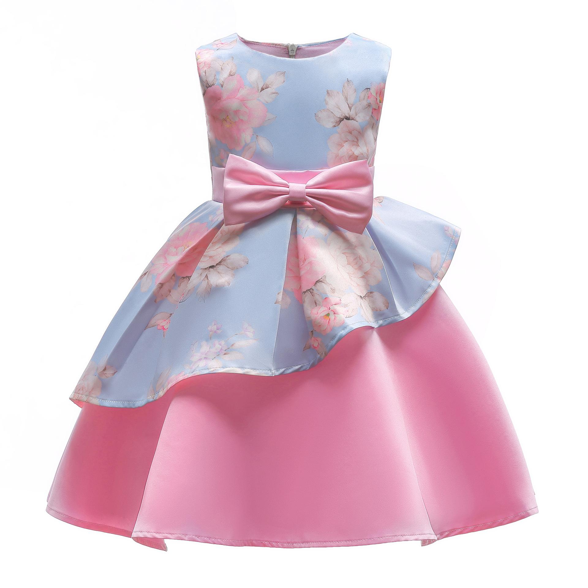 Vestidos de fiesta rosa azul