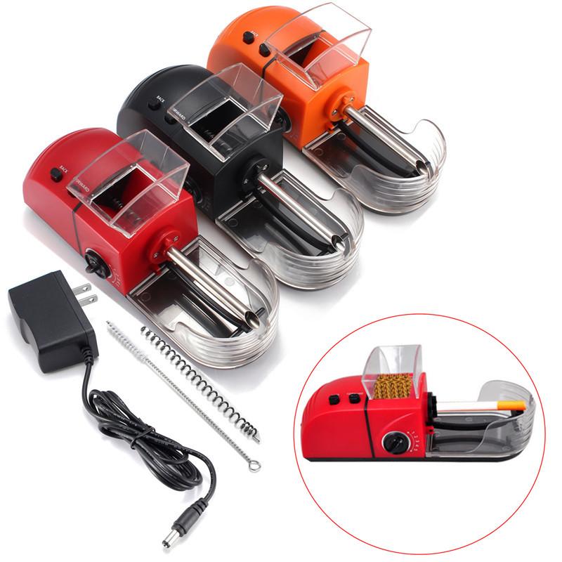 Новый высокое качество портативный мини ABS электрический автоматический сигареты табака ролик инжектор чайник подарок для мужчины / женщины
