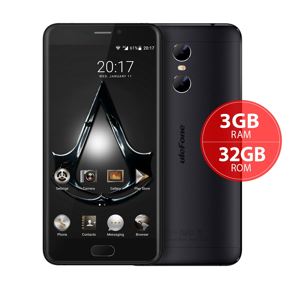 Buy Direct From China Factory Forme Android Mobile Phone Ulefone Gemini MTK 6737T 5.5 inch 13MP Dual Camera Smartphone