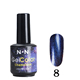 New bling color nail art decoration chameleon magic nail gels magic gel