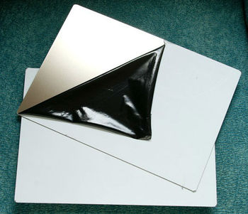 Pvc Card Laminating Stainless Steel Plates A4 Size