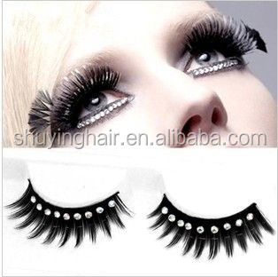 Best selling korea good diamond false eyelashes individual mink eyelashes diamond mink eyelashes
