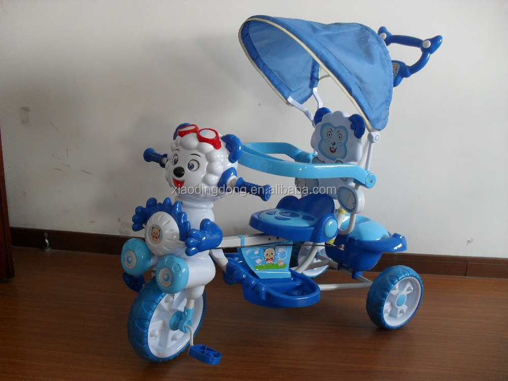 Wholesale high quality best price hot sale child tricycle kids tricycle baby tricycle double seat