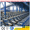 conveyor trough steel idler conveyor plain roller retrun roller frame/bracket/idler station