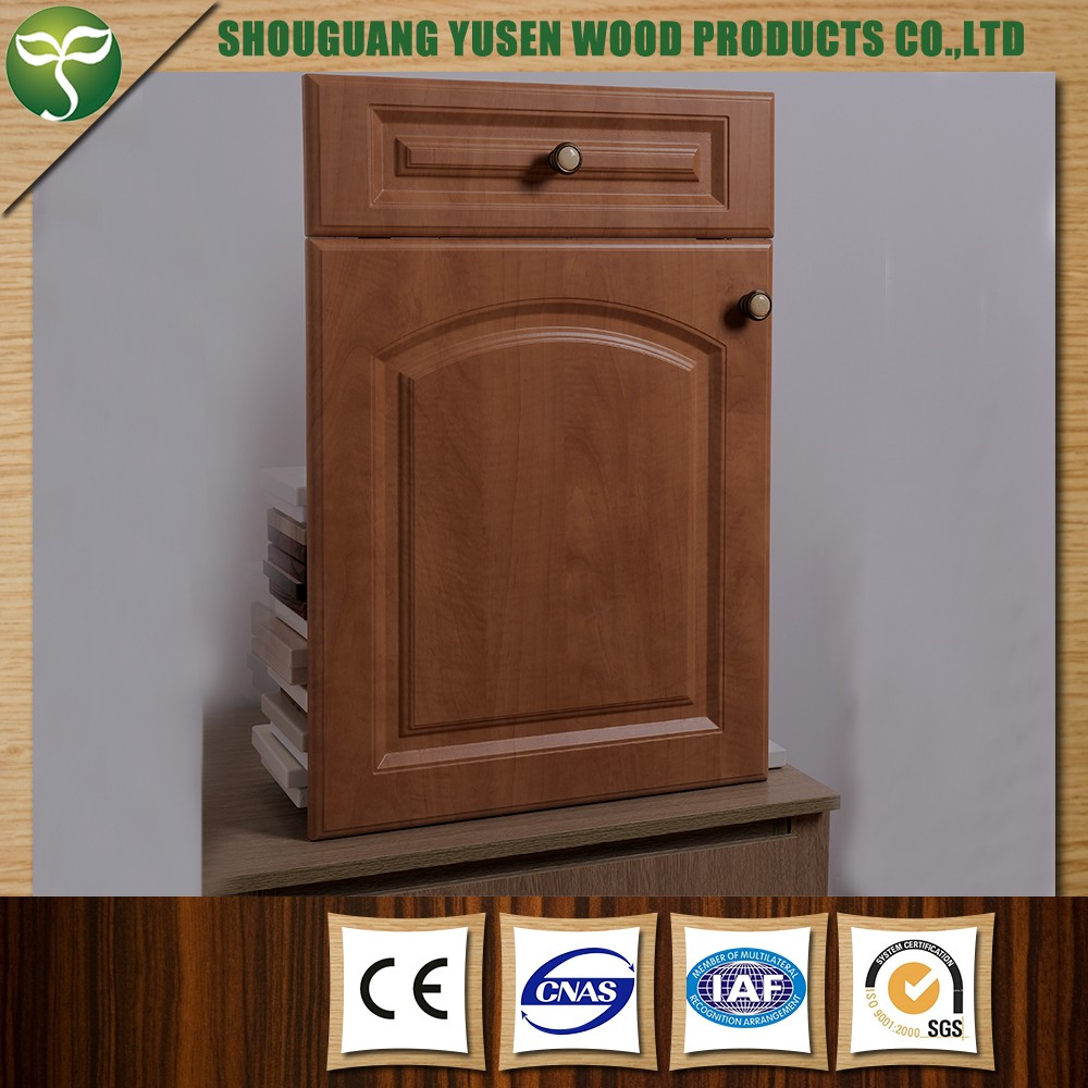 Vinyl Kitchen Cabinet Doors: Pvc Warpped Kitchen Cabinet Door/vinyl Wrapped Kitchen