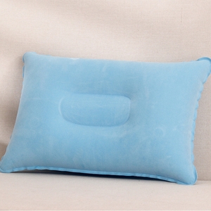 High Sale Guarantee Rectangle Holiday Inflatable Rest Travel Pillow