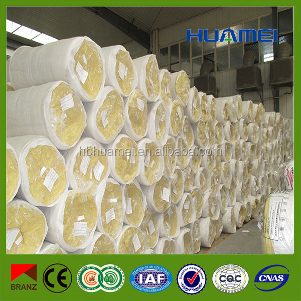 Fireproof glass wool thermal insulation used for building roof&wall