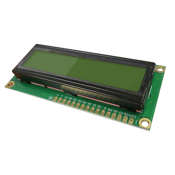 1602 16x2 Display LCD Backlight Tela Verde Amarelo para Arduinos