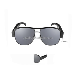 Cool fashion glasses camera spy 1080p cheap video sunglass with manual for men