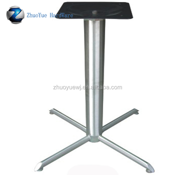 Wholesale Brushed And Polished Claws Metal Wrought Aluminum - Cafe table legs