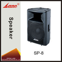 Lane SP-8 professional natural sound speakers audio
