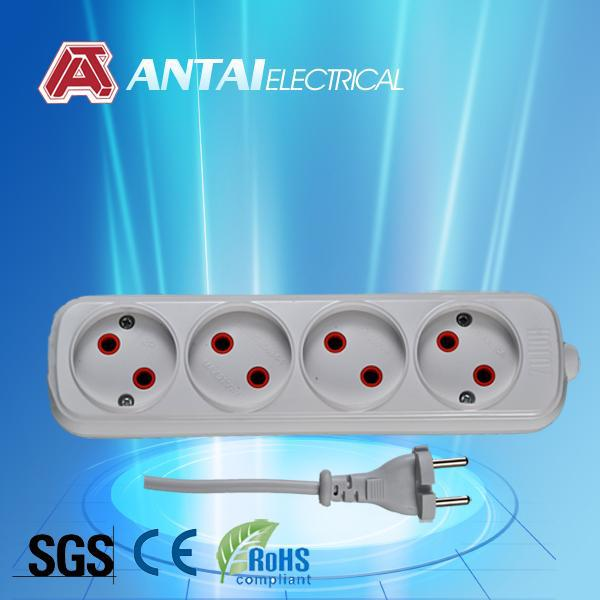 4 outlet extension power strip