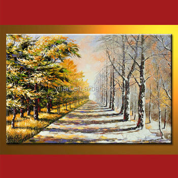 Wholesale Top Quality Autumn Tree Beautiful Scenery Wall Painting Buy Beautiful Scenery Wall Painting Scenery Wall Painting Beautiful Wall Painting