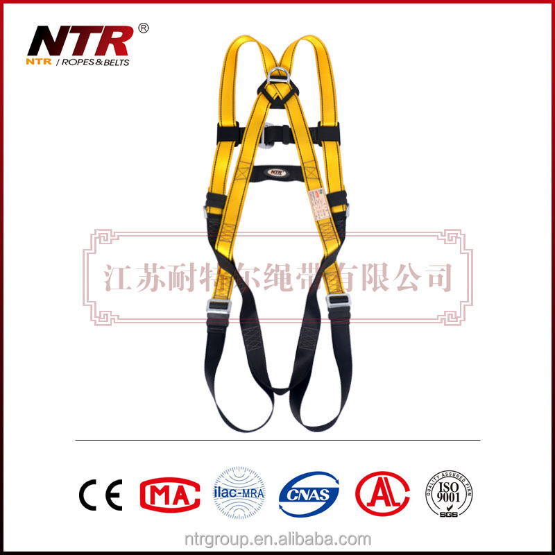NTR safety belt full body harness rescue parachute