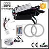 Car light for auto lighting system, qualified COB 70mm 60SMD RGB Angel eyes