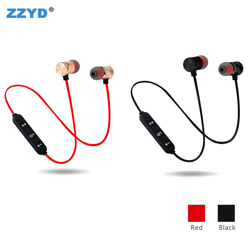 ZZYD Wireless Magnetic Earphone Sports BT Headphones Custom In Ear Headset Wholesale In Stock фото