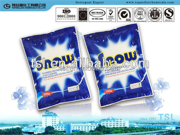 lemon fresh 12% LAS OEM/ODM soap washing products detergent powder making formula