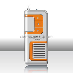High Quality Portable Digital Fm Band Mobile Mp3 Radio Players