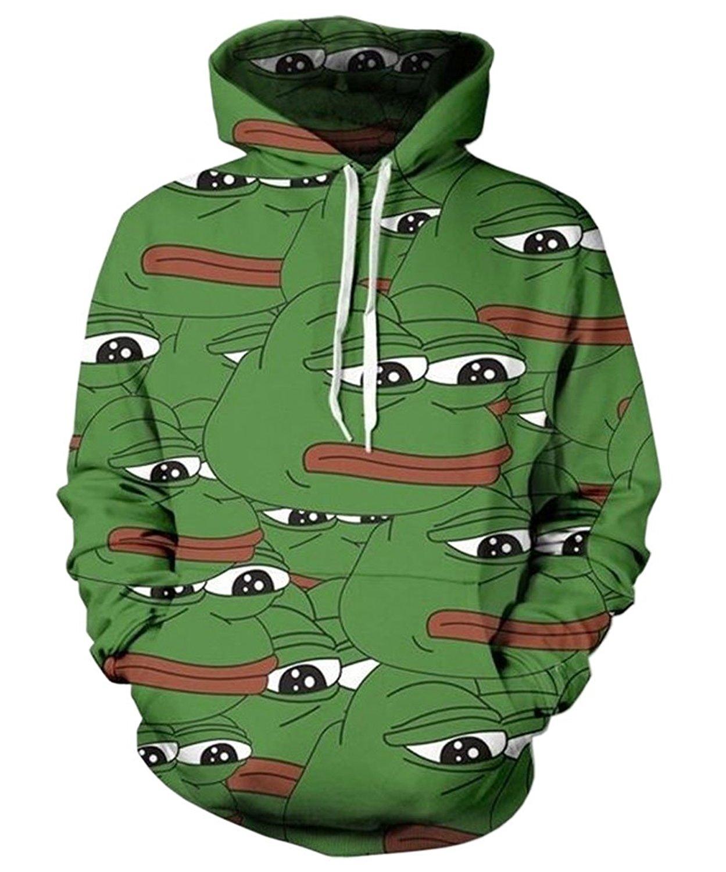 SKCUTE_SWEATER Unisex Mens Vivid Tiger Hoodie 3D Digital Print Hipster Pullover Sweatshirt