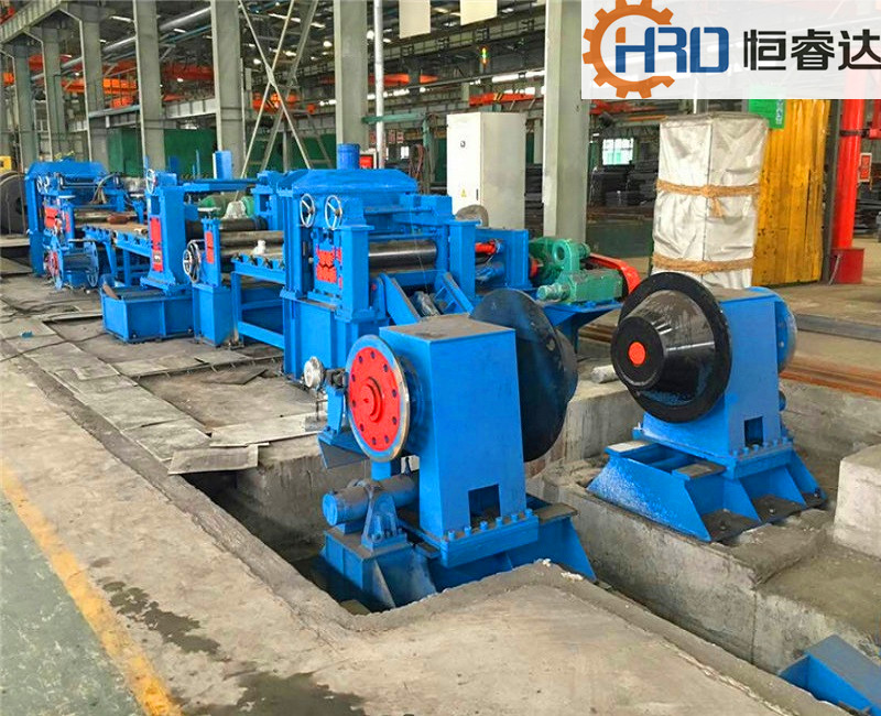 HR CR full-automatic steel coil slitting line for sale slitting machine