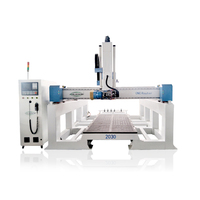 jinan factory cnc 4 axis machine wood carving router