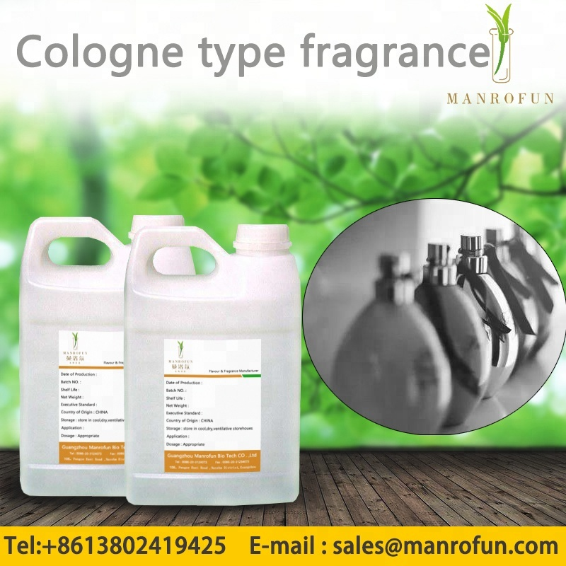 High concentration Cologne type Fragrance used for Perfume , Shower Gel, Shampoo