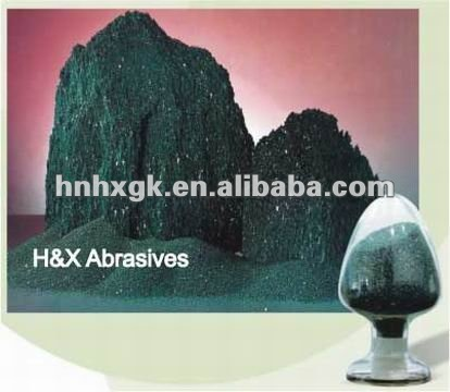 high purity high hardness Green silicon carbide 99%min F P grade