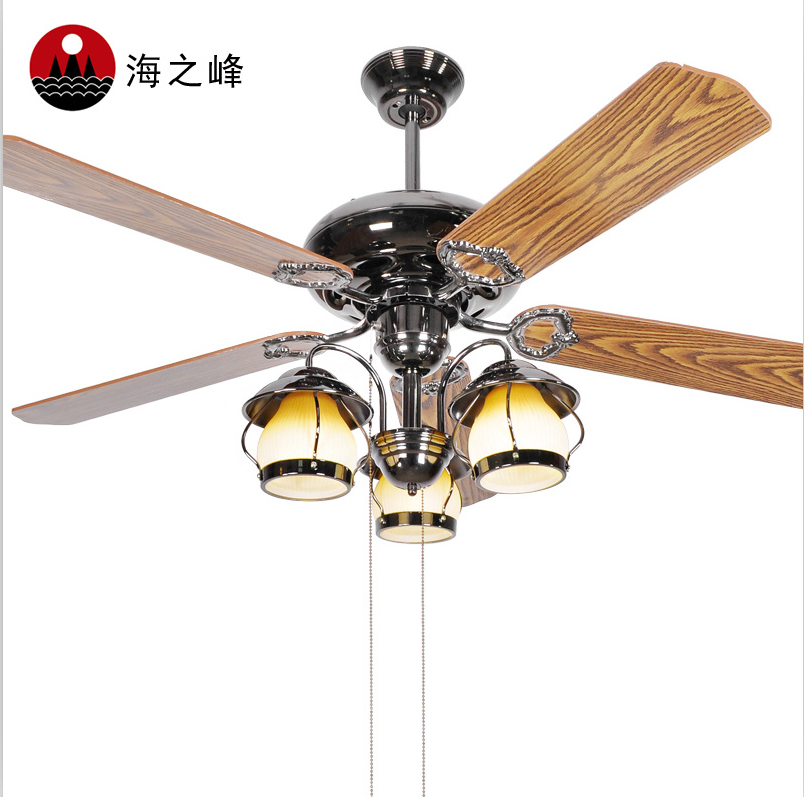 High quality electronics bladeless decorative ceiling fan with crystal light