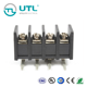 UTL Different Size Pin Papepp Pcb Waterproof 10mm Terminal Block Electrical Connector Strips