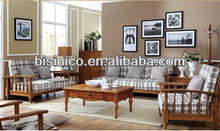English Country Style Furniture, Living Room Furniture Sofa Set, Comfortable and Elegant