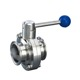 QJYL free sample 3 ways sanitary ball valve for 7 days lead