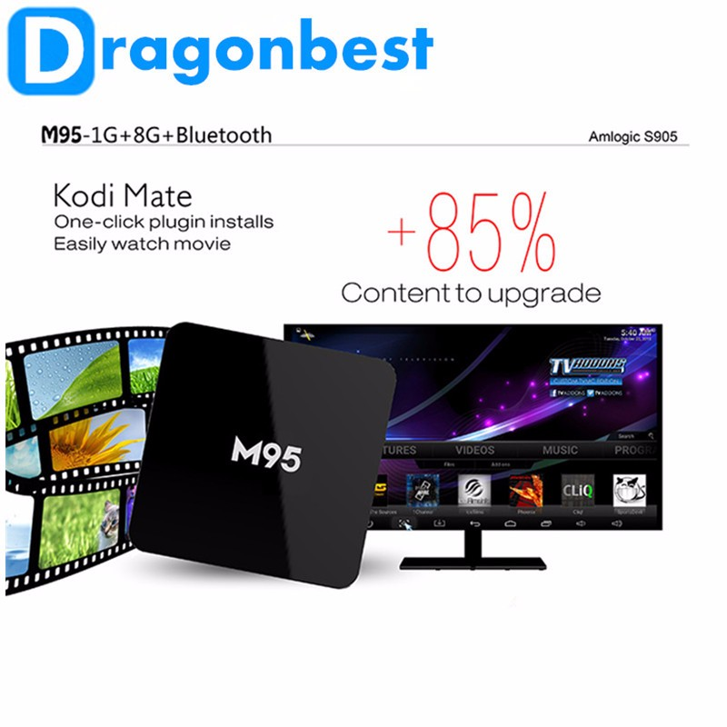 Factory price M95 X9 android 5.1 tv box 4K Quad Core 1G 8G google android tv box with sim card