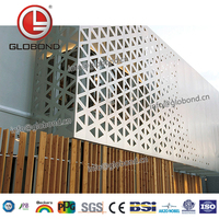 GLOBOND Curtain Wall Panel Material/Wall Facing Material for Curtain Wall