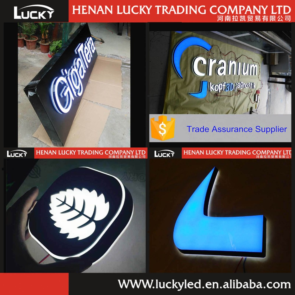 Electronic Components & Supplies Custom Outdoor Advertising Facelit Acrylic Store Signage Led Letters Sign