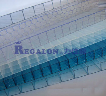 Double Cellular Polycarbonate Twinwall Sheet For