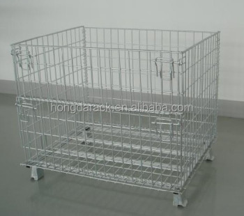 Top quality storage cage with wheels