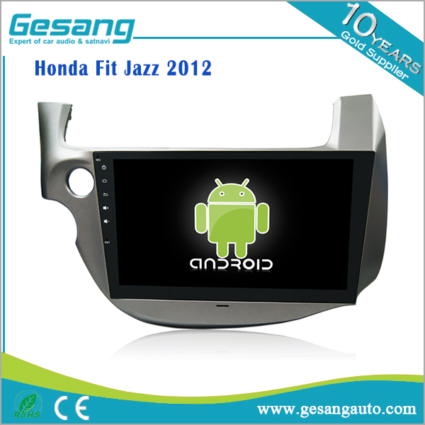 Android 6.0 10.1 Inch Car DVD Player car audio for Honda Fit Jazz 2012 with 3G, WiFi, DVB-T, Bluetooth, 1080P,AM/FM