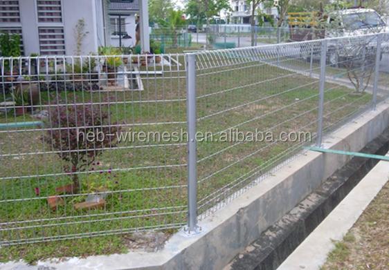 Brc Welded Wire Mesh Fencing Welded Rolltop Security
