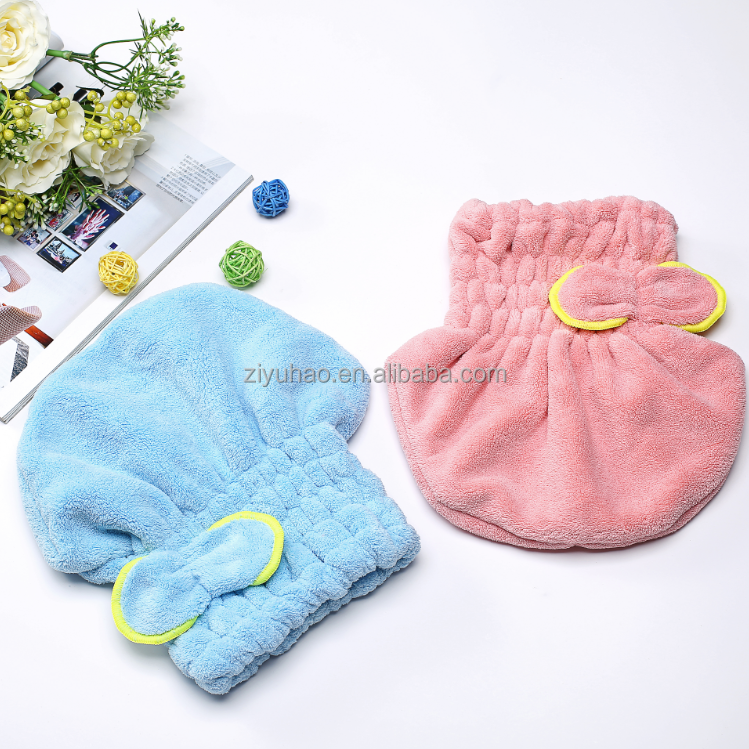 Cotton hair drying towel/ quick dry hair towel/personalized hair towels