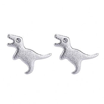 925 Silver Jewelry Cute Girls Small Stud Dragon Earring
