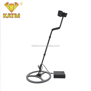 2kHz hand held metal detector Audio Frequency and light/voice/vibration Indicators underground gold detector