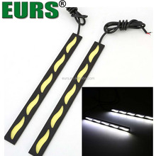 Super bright waterproof COB 12V 6000K 10W 17CM ultra thin daytime running lights