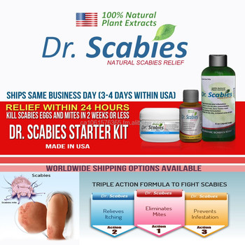 Scabies sulfur